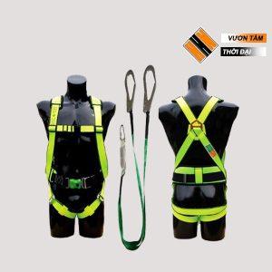 Dây an toàn toàn thân – 2 móc sắt – có đai bụng