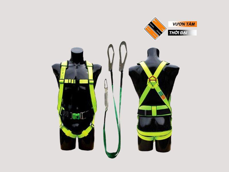 Dây an toàn toàn thân - 2 móc sắt - có đai bụng