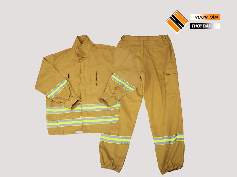 Quần áo PCCC - TT48 đạt tiêu chuẩn theo quy định của Bộ Công An