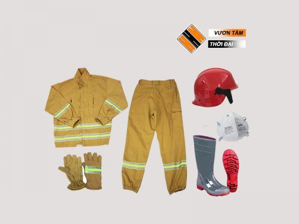 Quần áo PCCC - TT48 đạt chuẩn theo quy định của Bộ Công An