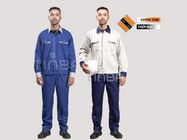 Đồng phục kĩ thuật may sẵn TinBa