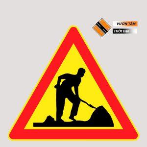 Biển cảnh báo công trình