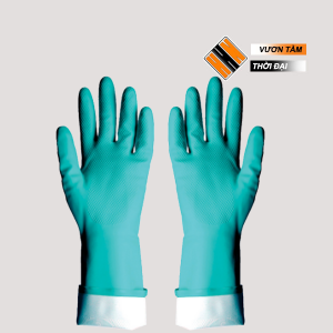 Găng tay cao su nitrile RNF 18