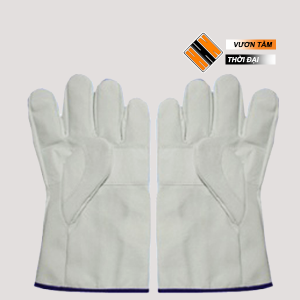Găng tay vải bạt 2 lớp