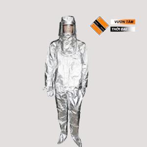 Quần áo tráng bạc chống cháy 500 độ c